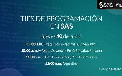TIPS de programación en SAS