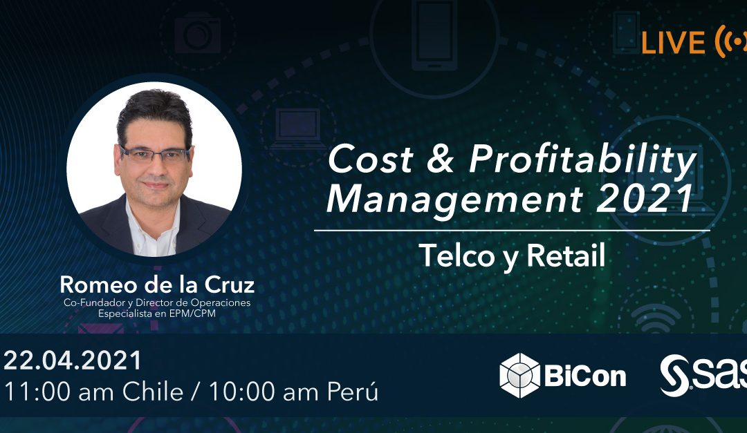 Evento virtual – Cost & Profitability Management 2021 (Telcos & Retail) 22 de abril