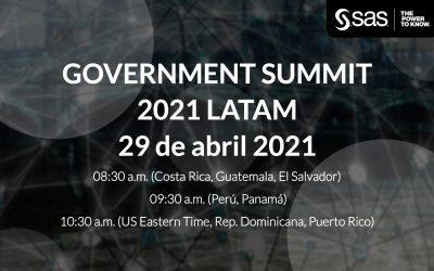Webinar – Government Summit 2021 LATAM – 29 de abril