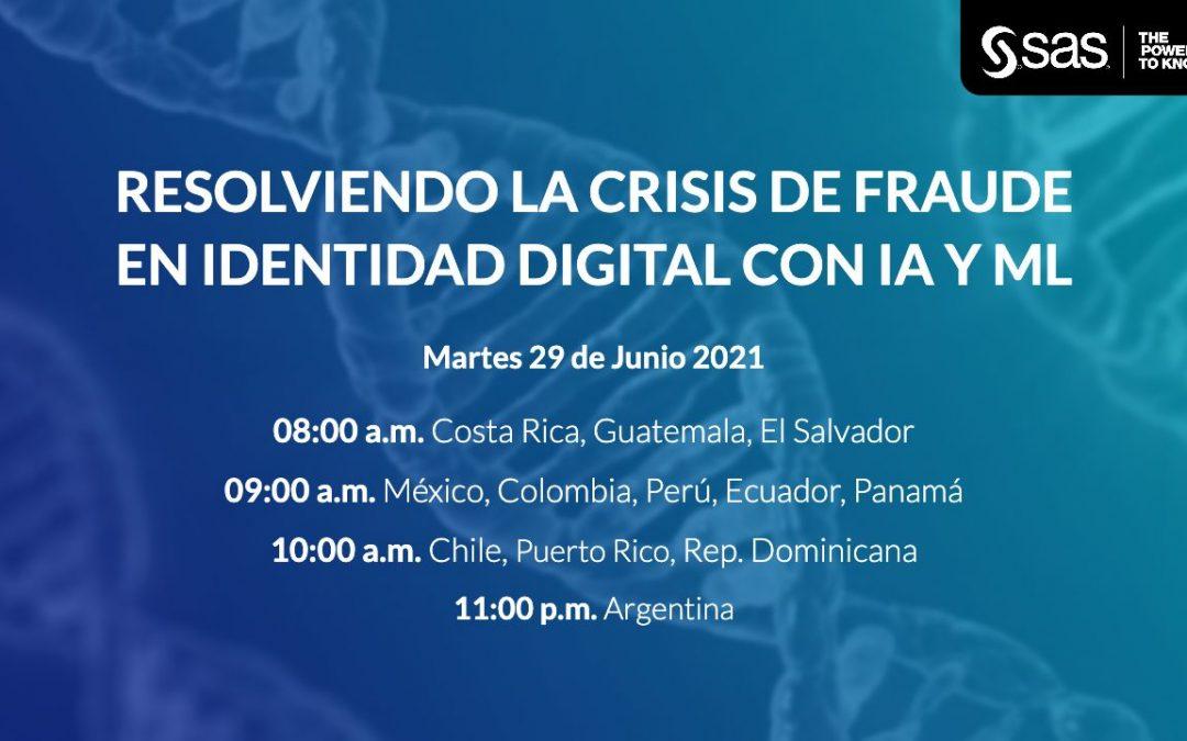 Resolviendo la Crisis de Fraude en Identidad Digital con IA y ML