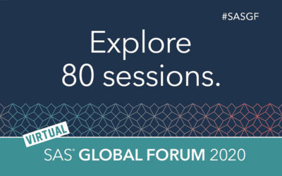 SAS® Global Forum Virtual Event